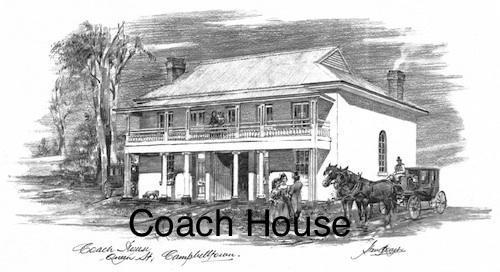 Coach House $15 (A4 print)