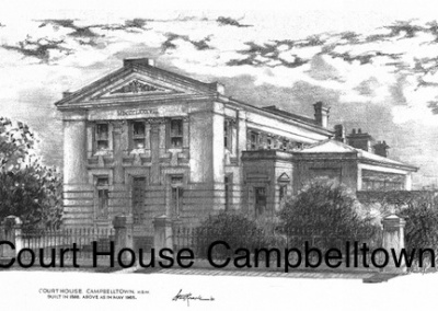 Court House Campbelltown $15 (A4 print)