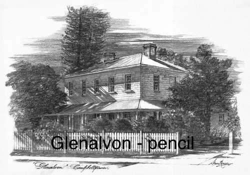 Glenalvon pencil $15 (A4 print)