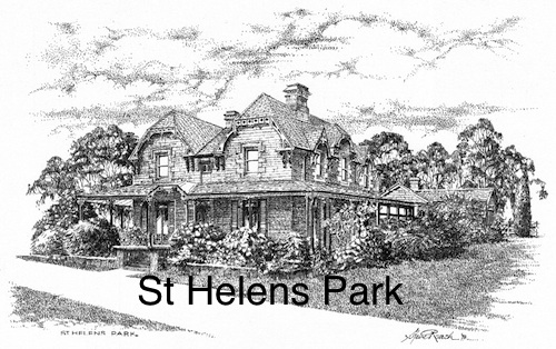 Steve Roach, St Helens Park, SOLD OUT, A3 print