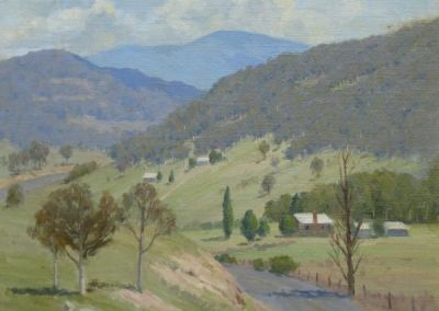 Along the road to Thredbo, Henry Hanke, SOLD