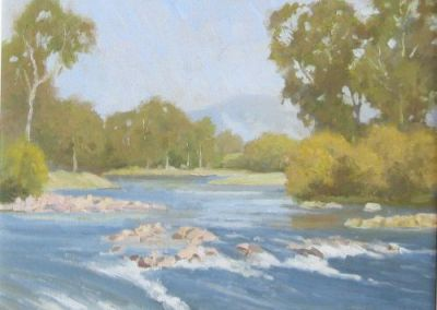 Autumn Buffalo River, Henry Hanke, $425