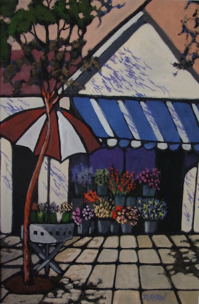 Doreen Shaw, The Flower Shop, $320, 15x23cm