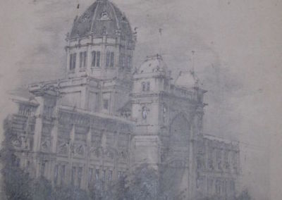 Exhibition Building Melbourne Victoria SOLD