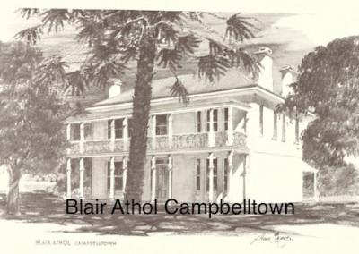 Blair Athol Campbelltown $15 (A4 print)