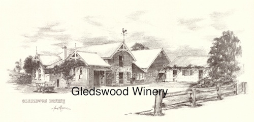 Gledswood Winery $15 (A4 print)