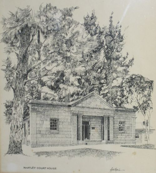 Hartley Court House $300