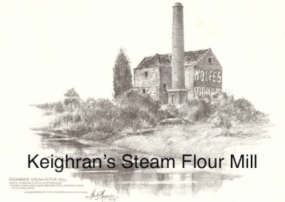Keighran's Steam Flour Mill $15 (A4 print)