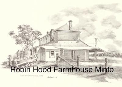 Robin Hood Farmhouse Minto $15 (A4 print)