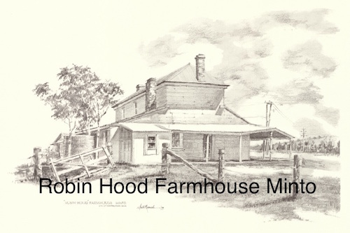 Steve Roach, Robin Hood Farmhouse Minto, SOLD OUT, A3 print
