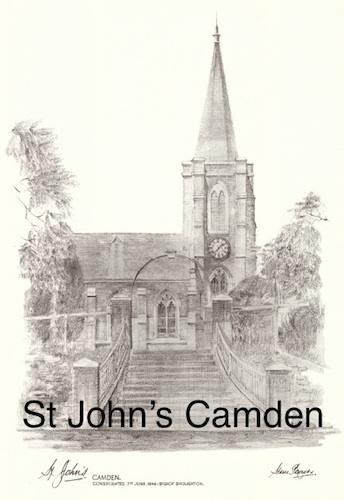 Steve Roach, St John's Camden pencil, $80, A3 print