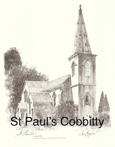 St Paul's Cobbitty $15 (A4 print)