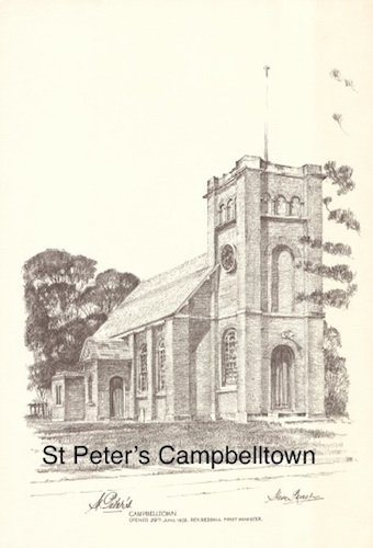 Steve Roach, St Peter's Campbelltown, $80, A3 print