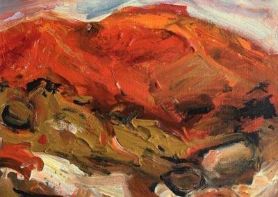Pilbara I, $210, 25.5x25.5cm