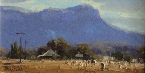 Autumn Chill Glen Davis, $410, 15x28cm