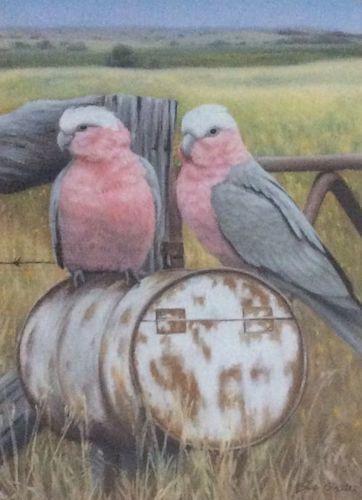 Sue Gasser, Locals, $890 (re-sale), 49x36cm
