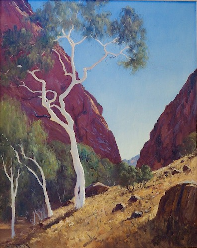 Simpson's Gap, $4000neg., 76x61cm (re-sale)
