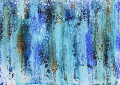 Blue Gums, $240, 29.7x42cm (mixed media)