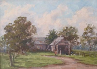 Olive McAleer, Farm Life Cawdor, $350, 24x34cm (re-sale)