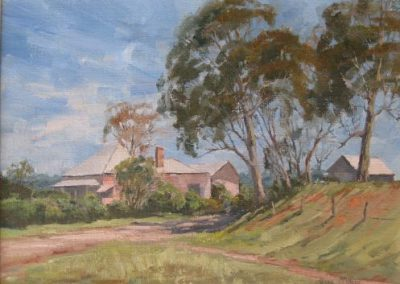 Olive McAleer, Farmhouse Cawdor, $480, 29.5x39cm (re-sale)