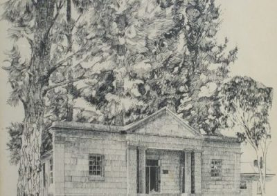 Hartley Court House, SOLD, 34.5x27cm (sale pending)