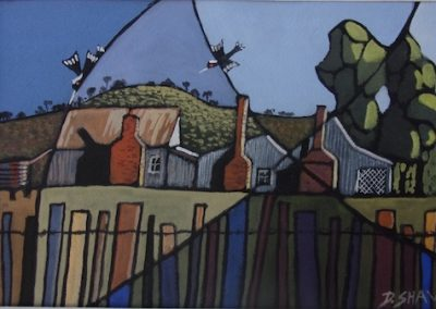 Hill End, SOLD, 15x23cm