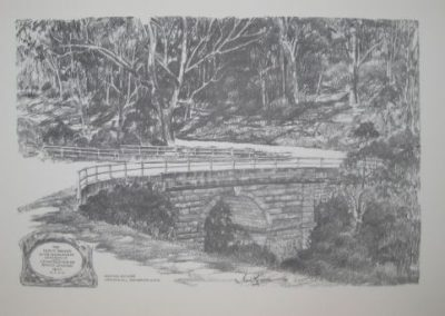 Lennox Bridge, $60, A3 print (unframed)