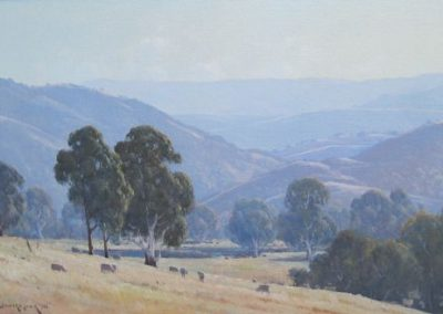 Morning at Strath Creek, Yea, Victoria, $3750, 50x75cm (re-sale)