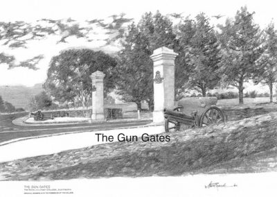 The Gun Gates, $60, A3 print