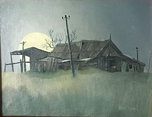 Bob Baker, 'The Stables' Camden Park Estate, SOLD, 22x29.5cm