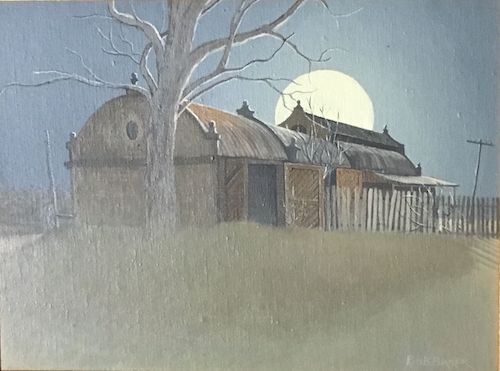 Bob Baker, Full Moon, $150, 18.5x24cm