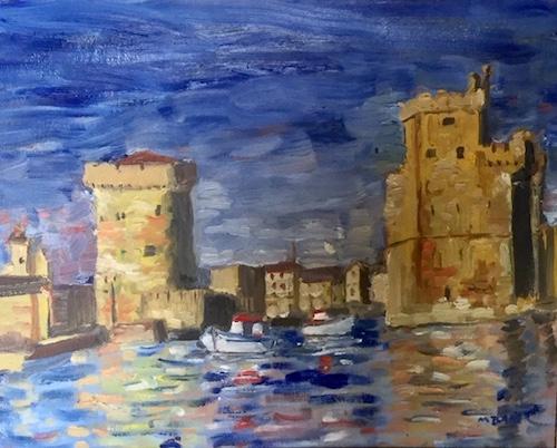 Marjorie Baker, La Rochelle France, $140, 41x30.5cm