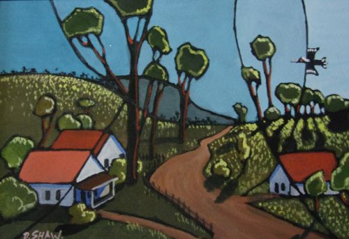 Doreen Shaw, Little Hartley, SOLD, 23x15cm