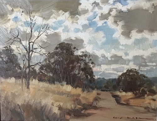 Gary Baker, Warragamba, SOLD, 19x26cm