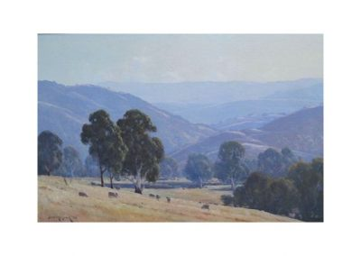 Leonard Long, Morning Strath Creek Yea, $3750, 50x75cm (re-sale)