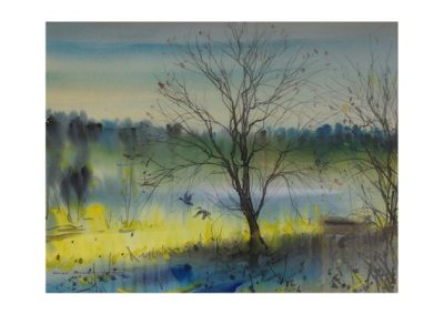 Gary Baker, Orangeville, $1850, 82x50cm