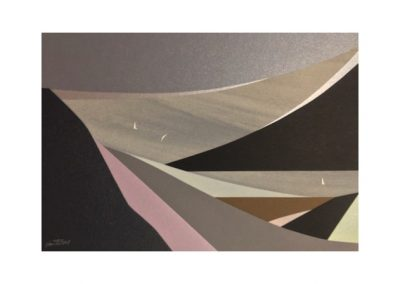 Sarah Howard, Silver Lining, $480, 19x28cm