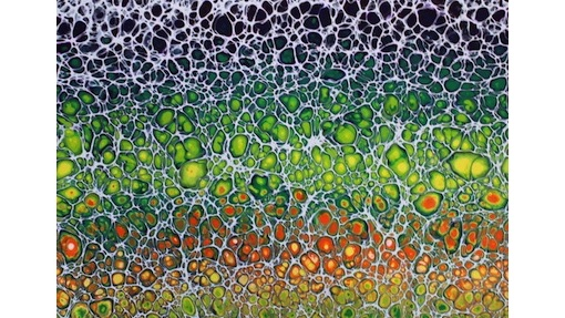 Lorna Pitt, Desert Bloom, $220, 21x29.7cm