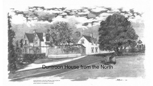 Steve Roach, Duntroon House from the North, $60, A3 print
