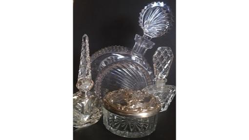 Vintage Glassware, various