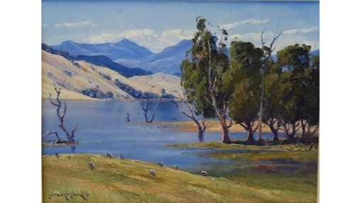 Leonard Long, Highwater Goodradigbee, $1200, 30x41cm (re-sale)
