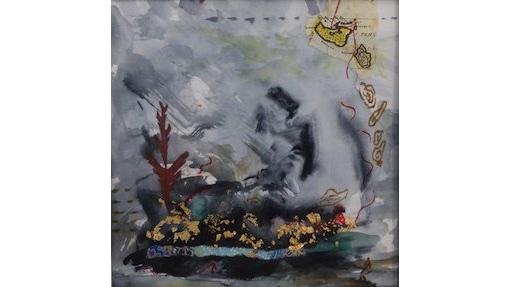 Jennifer Jackson, Moments, $295, 12x12cm
