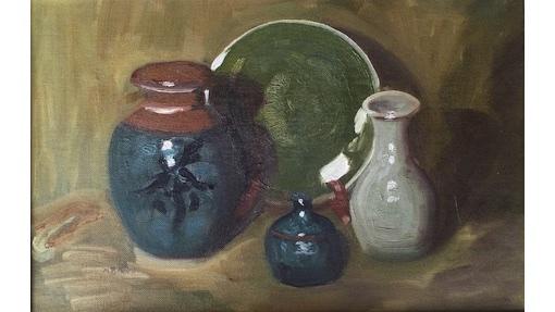 Marjorie Baker, Still Life, $300, 25x39cm