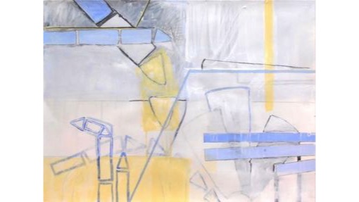 Moira Kirkwood, The Uncertain Mapmaker, $750, 56x76cm